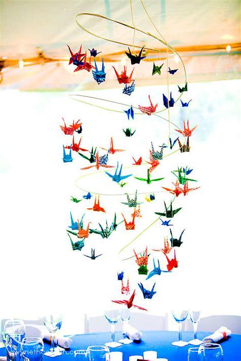 Diy Origami Crane - diy wedding in rhode island featuring handmade origami cranes