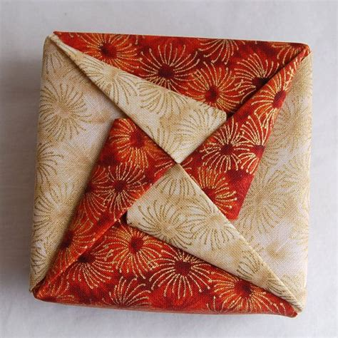 Fabric Origami Box - 25 best ideas about fabric origami on fabric