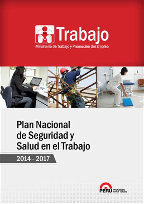 seguro universal de salud y el plan nacional de desarrollo per 250 plan nacional de seguridad y salud en el trabajo