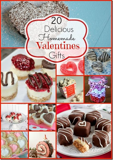 homemade edible valentines day gift ideas  taylor