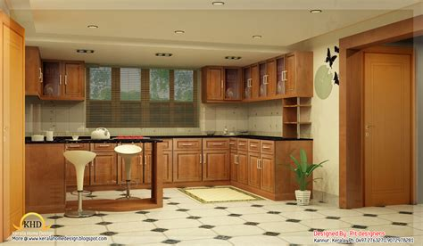 interiors for the home beautiful 3d interior designs kerala home design and