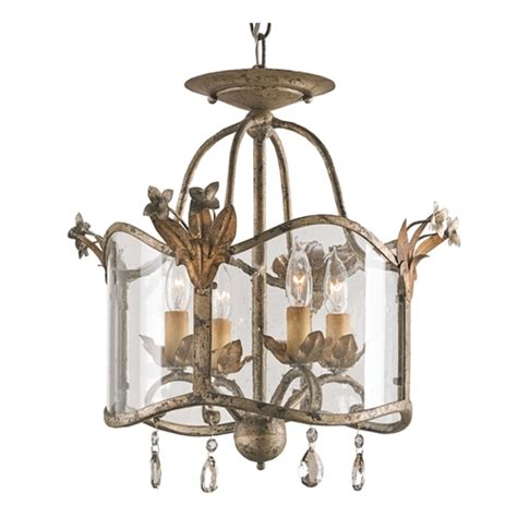 Currey Lighting Fixtures Currey Company Lighting Zara Flush Mount Small 9979 Free Shipping