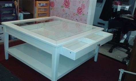 Glass Top Display Coffee Table With Drawers High Gloss White Cm Coffee Table With Glass Top Coffee Table Inspirations