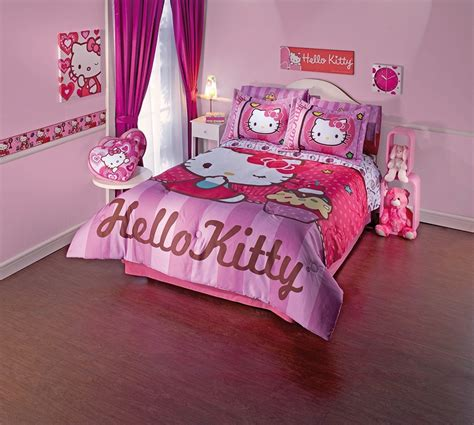 hello kitty bedroom set lovely hello kitty bedding sets home designing