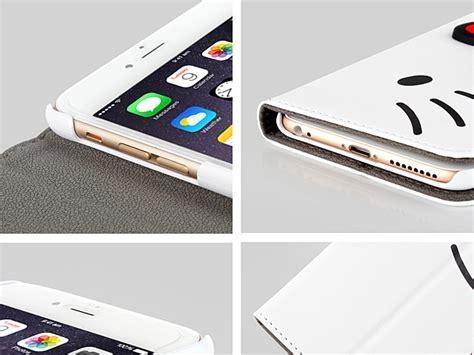 Casing Universal 7 Hello iphone 6 plus 6s plus hello pu flip