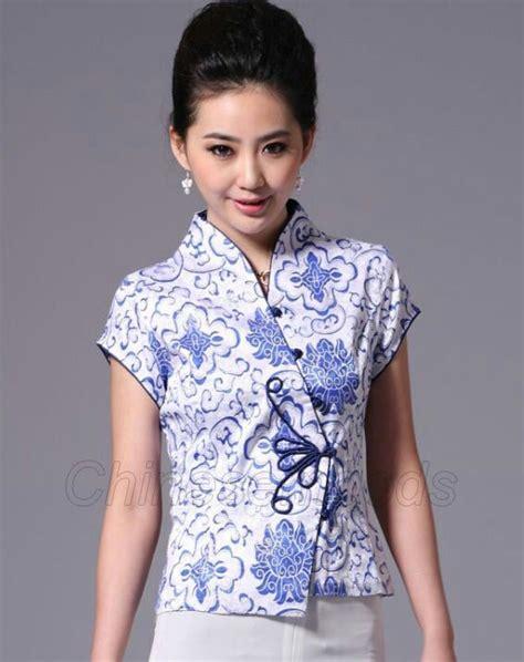 Blouse Batik O cheongsam batik blouse batik i want beautiful buttons and frogs