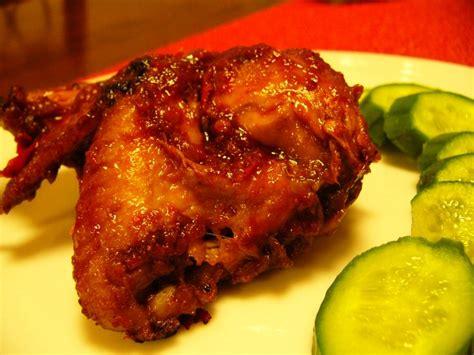 resep ayam bakar pedas resep kreasi ibu kumpulan resep