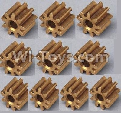Gear Wl Toys V686 jjrc h5 h5c parts 35 small copper gear for the motor 10pcs