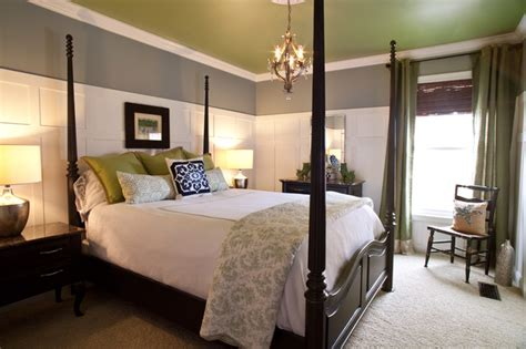blue paint for bedroom houzz coastal guest bedroom traditional bedroom cincinnati