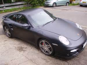 Porsche 911 Matte Porsche 911 Wrapped Matte Black By Wrapping Cars