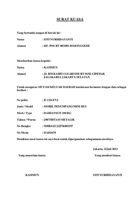 contoh surat kuasa lengkap 4d1jonk medium