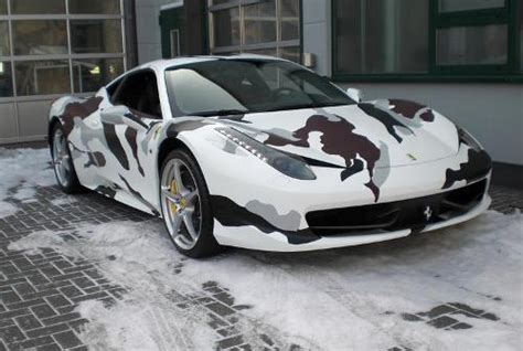 camo ferrari 458 ferrari italia 458 wrapped in camouflage about collections