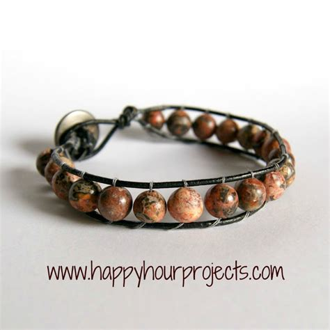 leather beaded bracelet diy turtles and tails quot future projects quot