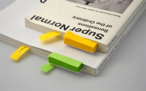 Sticky Notes Bookmark Post It Memo Catatan Tempel Karakter Sno005 note sticky note bookmarks by simple form design