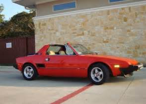 Fiat X19 For Sale Cleanest Around 1 Owner 1982 Fiat X1 9 Bring A Trailer