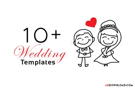 after templates free 15 top wedding after effects templates free