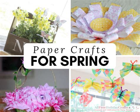 All Paper Crafts - 31 paper craft ideas for allfreeholidaycrafts