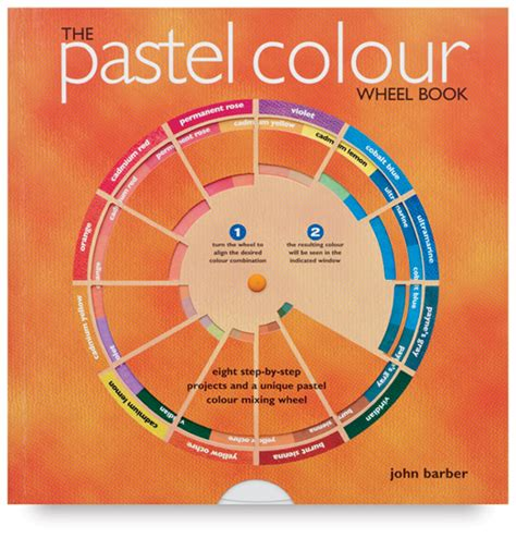 pastel color wheel the pastel colour wheel book blick materials