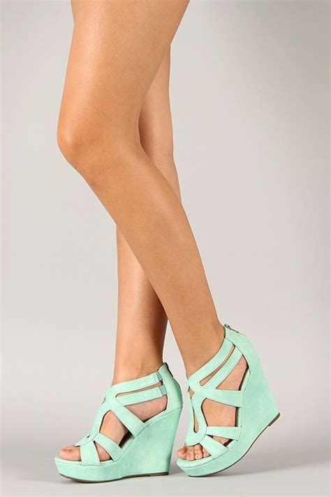 Wedges Vintage Cl lindy 3 strappy open toe wedge for me