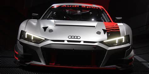 audi  lms gt race car revealed