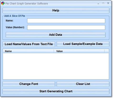 graph generator software free pie chart graph generator software by