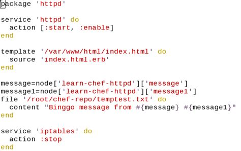 chef template variables urbancode passing dynamic values to chef node attributes