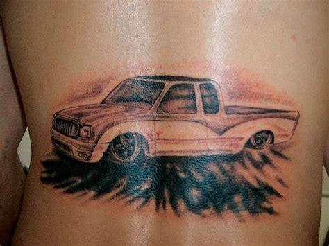 tattoo ideas cars car tattoo on back