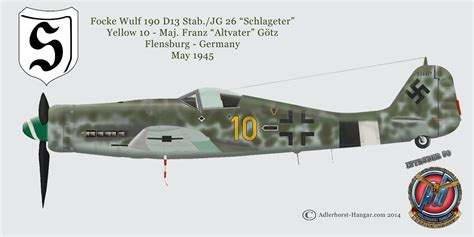 pin fw 190 d9 langnase parkflyer on