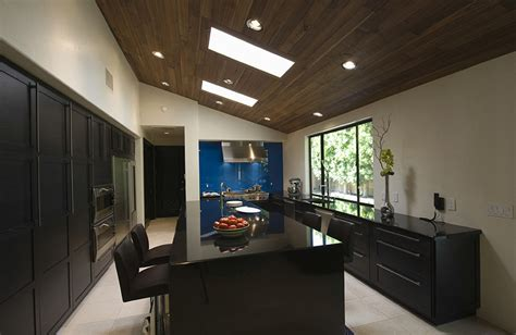 kitchen with sloped ceiling modern kitchen 50 high end wood kitchens photos designing idea
