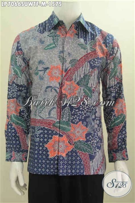 Hem Clasic Twis Atasan Baju Wanita hem batik premium baju batik lengan panjang furing motif mewah proses tulis berbahan