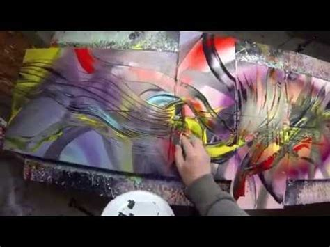abstract acrylic painting beckley abstract acrylic painting demo hd treefingers by