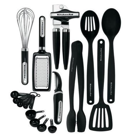 best cooking tools and gadgets kitchenaid utensil set ebay