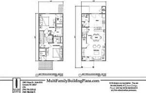 Unit Plans Townhouse Plans
