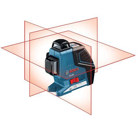 bosch laser level bosch gll 3 80p professional self leveling crossline laser