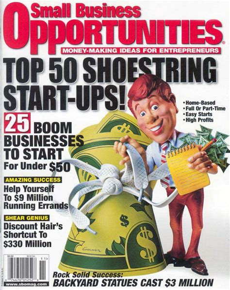 in small business opportunities magazine