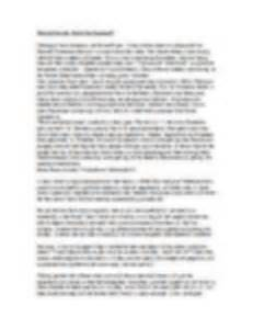 Drain Brain Essay by Should Brain Drains Be Banned Essay Preview