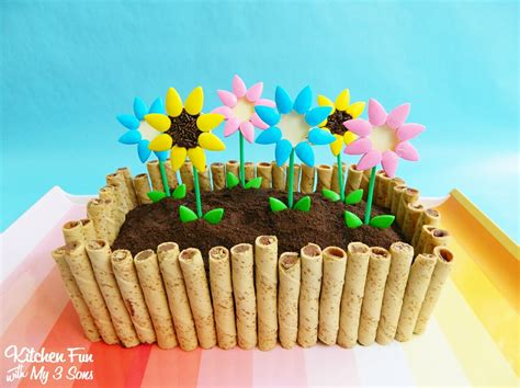 flower box garden flower box garden cake kitchen with my 3 sons