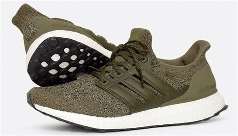 Adidas Ultra Boost Olive White 30 adidas ultra boost rosso 3 0