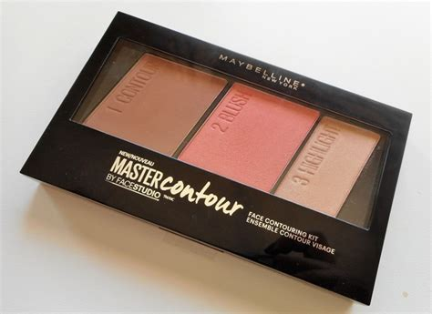 Maybelline Contour And Highlight maybelline by studio master contour contouring kit review