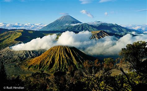 gambar pemandangan gunung bromo gambar unik lucu