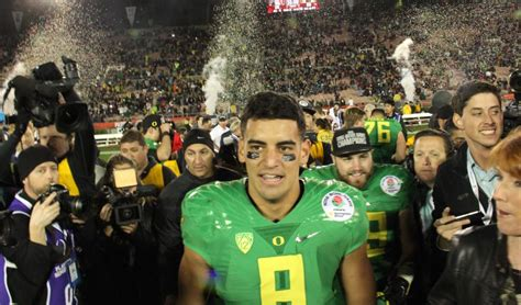 Mariota Criminal Record Ducks Win Headed To National Title Around The O