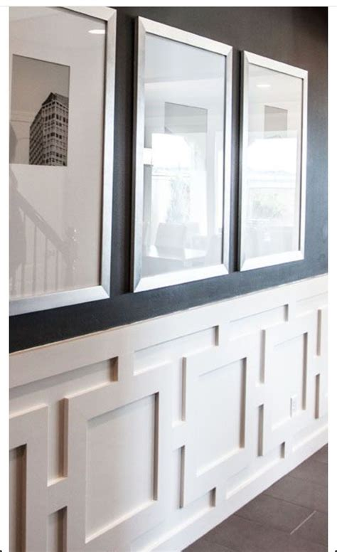 New Wainscoting by Wainscoting New House Hanging Pictures Home Decor