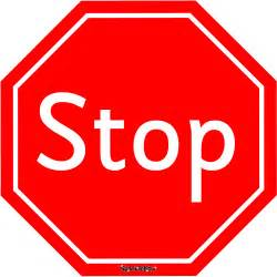 stop sign template free best photos of free printable signs free