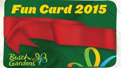 Busch Gardens Williamsburg Card by Busch Gardens Promo Code 2013 Ta Autos Post