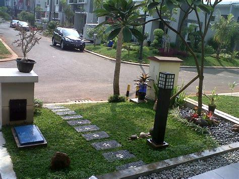 trik menata taman depan rumah minimalis lahan sempit renovasi rumah net