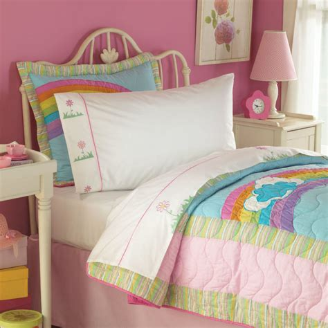 rainbow comforter twin rainbow quilt in bright pink rainbow colors for twin and