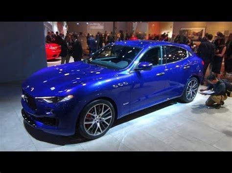 maserati blue 2017 maserati levante gransport 3 0 v6 twin turbo blue interior