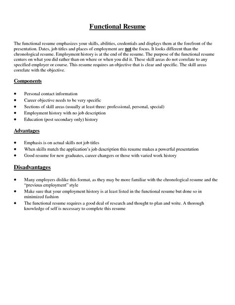 Overview Examples For A Resume by Resume Skills Summary Free Excel Templates
