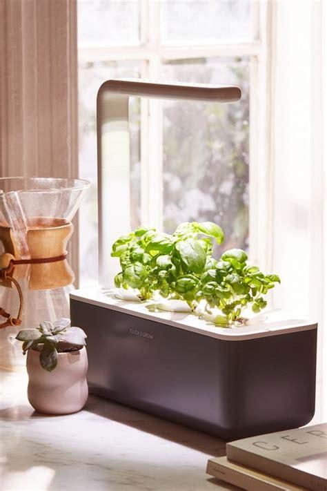 click grow smart herb garden  starter kit