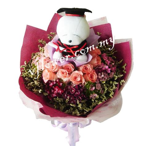 Graduation Flowers by V A Flower City In Melaka Malaysia Graduation Flowers